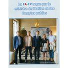 la FAFPH reçu par le ministre de l'action et des comptes publics