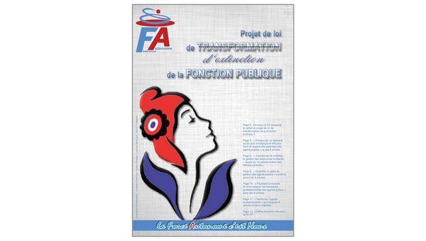Projet de loi d'EXTINCTION de la Fonction Publique, la FA-FP vous informe...
