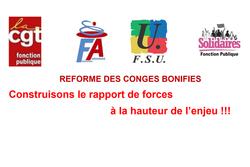 Nouvelle journée d'action pour la défense des droits aux congés bonifiés de nos collègues ultra-marines et ultra-marins