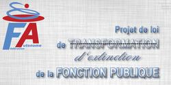 Le 6 août 2019 fera date dans l'histoire du démantèlement de la Fonction publique !